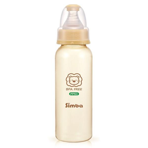 Bình sữa nhựa PPSU 240ml-Simba