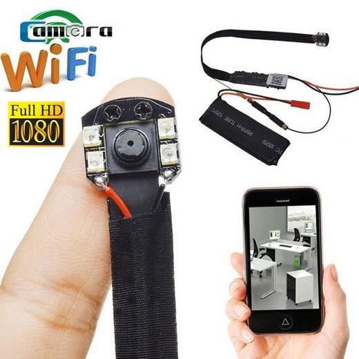 Camera WIFI giấu kín Siêu nhỏ S09 Full HD 1080P - Có hồng ngoại