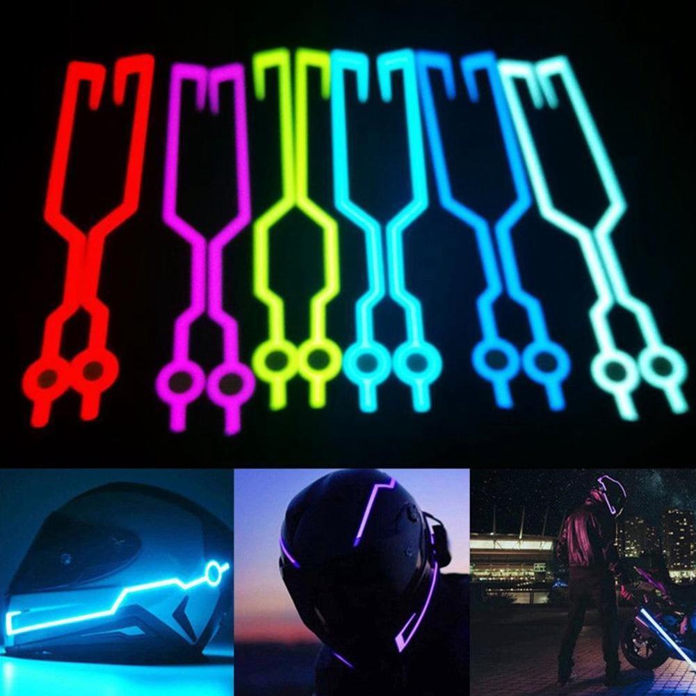 Đèn LED gắn nón bảo hiểm xe mô tô chất lượng cao