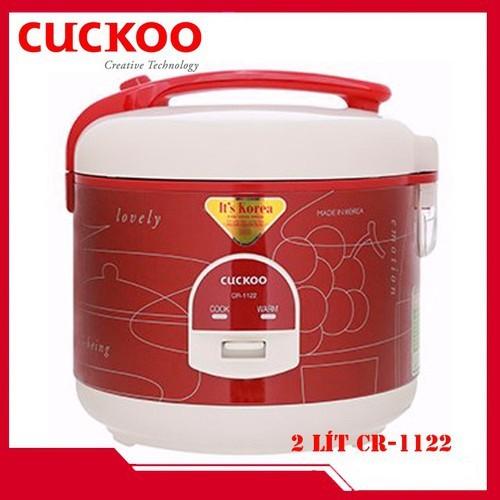[Mã 267ELSALE hoàn 7% đơn 300K] Nồi cơm điện Cuckoo 2 lít CR-1122 - Nhập Khẩu Hàn Quốc