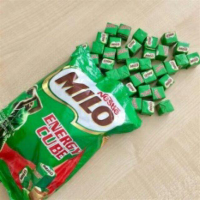 Kẹo Milo Energy cube Thái Lan 100 viên