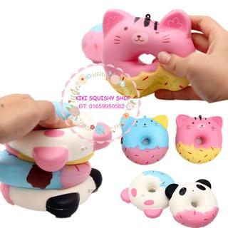 Squishy bánh Donut xịn – bao bì xịn