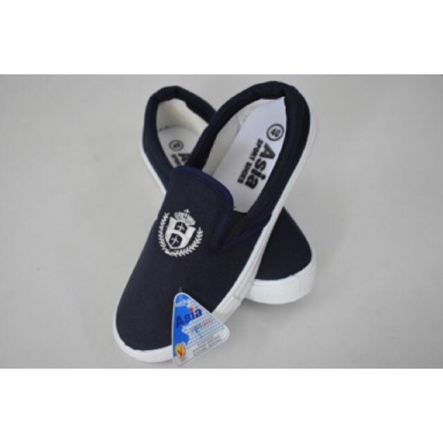 Giày lười Asia Nam Nữ không dây (Giày lao động tập thể dục)