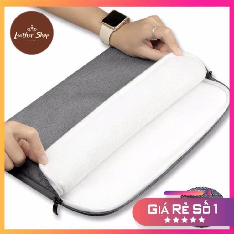 Túi chống sốc + chống nước cao cấp cho laptop, macbook LEOTIVA T40 - cặp đựng, túi đựng laptop 15.6inch