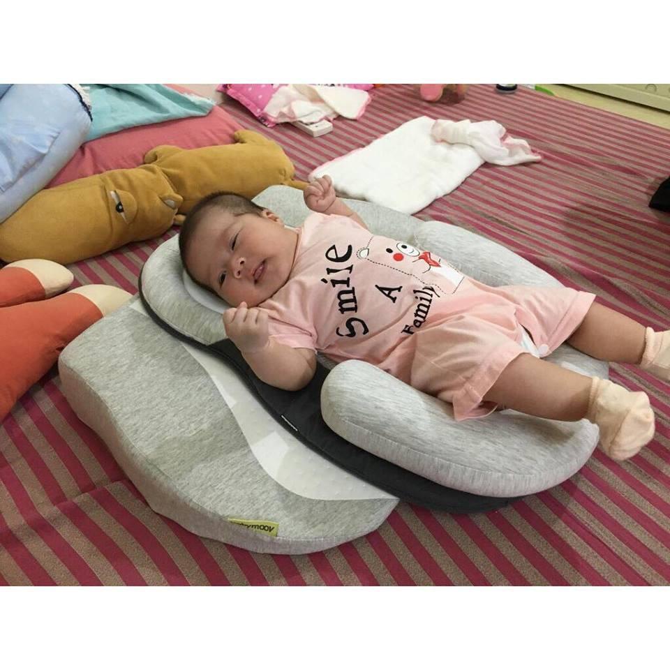 [BỘ SẢN PHẨM] Gối chống trào ngược và nệm ngủ đúng tư thế Babymoov