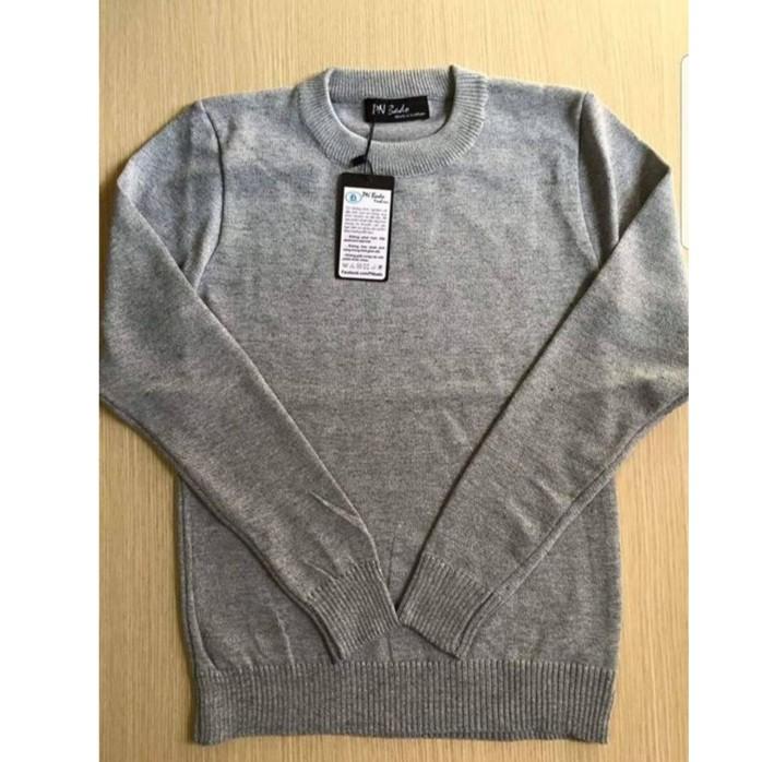 Áo len nam muối tiêu màu