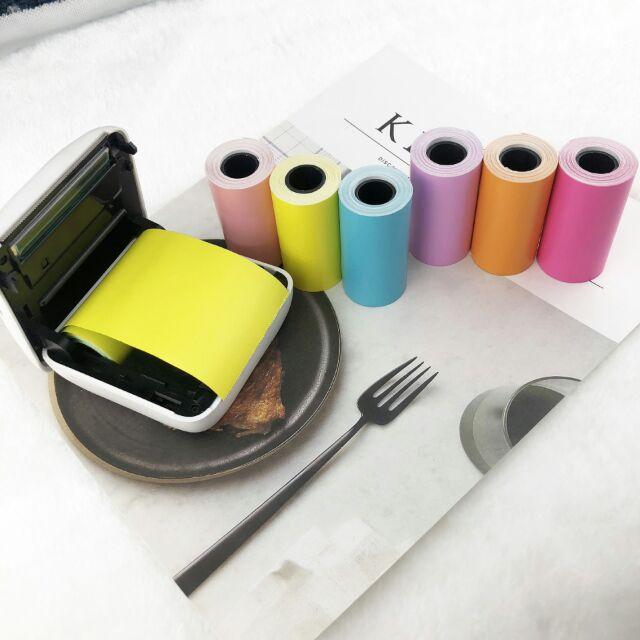 Giấy in nhiệt các loại màu cho máy in Paperang P1 | Paperang P2