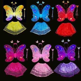 bộ cánh bướm thiên thần trung thu cho bé