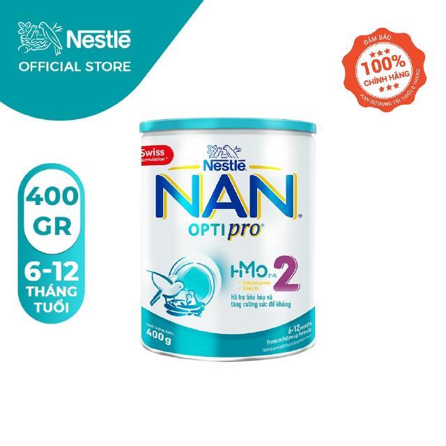 Sữa Bột Nestle NAN OPTIPRO 2 HM-O Hộp 400g