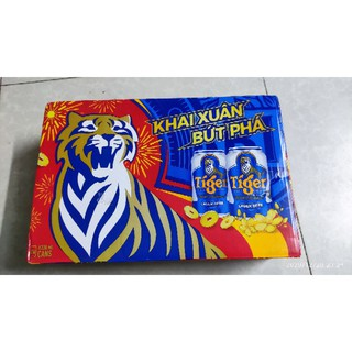 CHỈ GIAO HCM Thùng Bia Tiger 24 Lon 330 ml /Lon