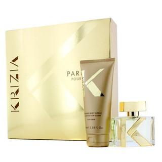 Hộp quà tặng nước hoa nữ Krizia - Bill SWEDEN (1x Eau De Parfum Spray 30ml 1oz + 1x Dưỡng Thể 100ml 3.38oz) thumbnail