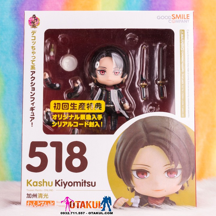Mô Hình Nendoroid 518 – Kashuu Kiyomitsu – Touken Ranbu