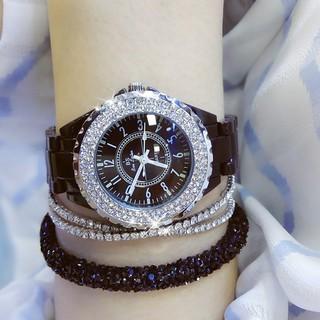 Đồng hồ nữ Bee Sister BM0280 hàng chính hãng dây đá siêu xinh 30mm thumbnail