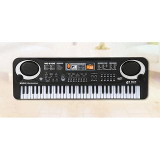 Đàn Organ, piano với 61 phím âm nhạc và microphone cho bé