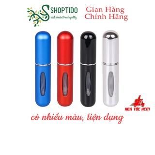Lọ chiết nước hoa mini dạng xịt tiện ích, nhỏ gọn nhiều màu 5ml NPP Shoptido thumbnail
