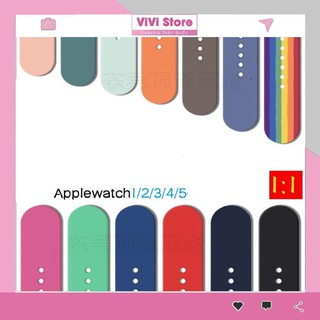 Dây cao su Apple watch Seri 1, 2, 3, 4 SIÊU RẺ - VIVISTORE