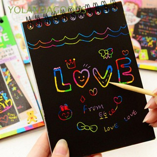 Gift Funny Magic Drawing Colorful Kids Scratch Paper