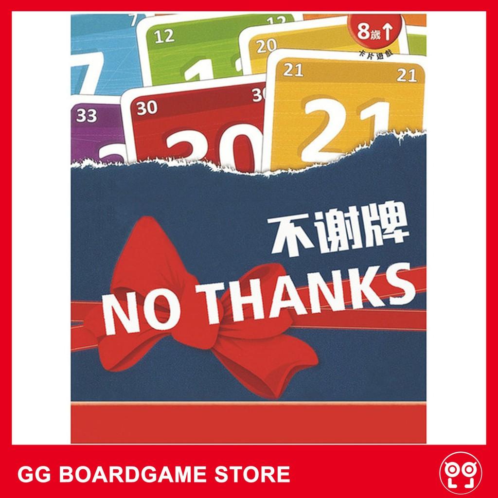 No Thanks! Board Game – Không, Cảm Ơn!