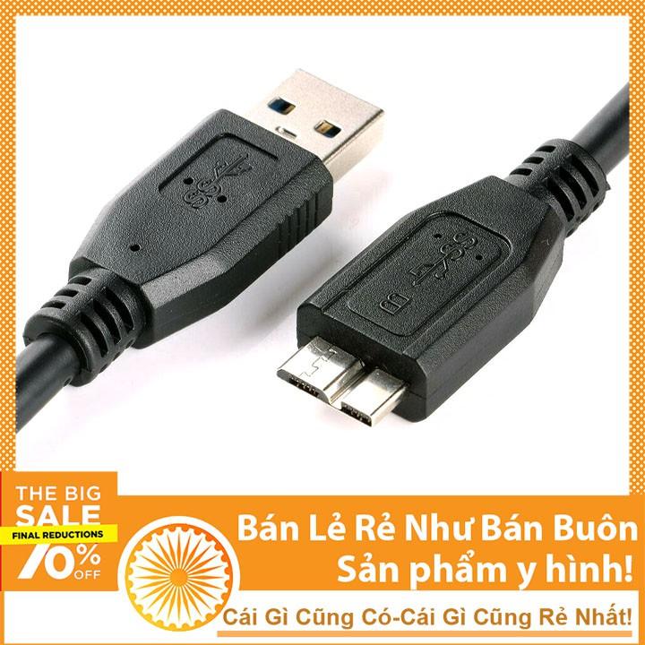 Dây Cáp USB Dùng Cho HDD Box - Ổ Cứng Di Động