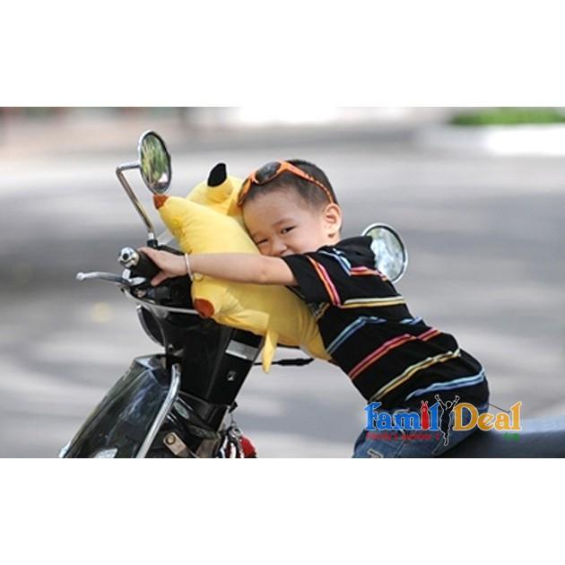 Gối đi xe máy abott Grow, Gối bông cho bé hình hươu cao cổ