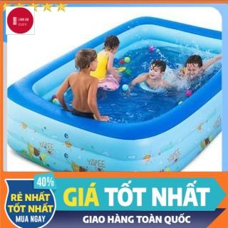 [Xả kho ngày hè] Bể Bơi Phao, Hồ Bơi Cho Bé Bơm Hơi Tại Nhà Chống Trượt An Toàn Cho Bé, Hàng Loại 1 – Linh An