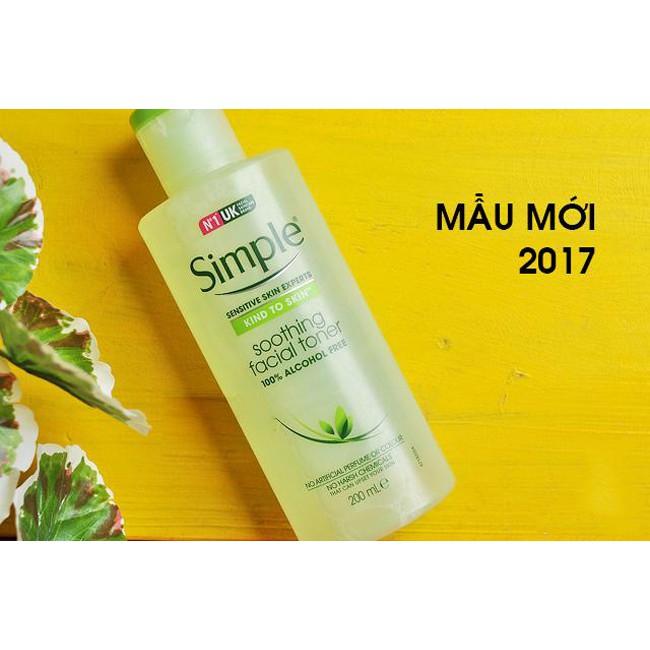 [BILL UK] Nước hoa hồng da nhạy cảm Simple Kind To Skin Soothing Facial Toner - 3514931 , 1247871642 , 322_1247871642 , 70000 , BILL-UK-Nuoc-hoa-hong-da-nhay-cam-Simple-Kind-To-Skin-Soothing-Facial-Toner-322_1247871642 , shopee.vn , [BILL UK] Nước hoa hồng da nhạy cảm Simple Kind To Skin Soothing Facial Toner