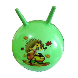 Inflatable Bouncing Ball Sport Toy Cartoon Animal Educational Toy Ball for Baby