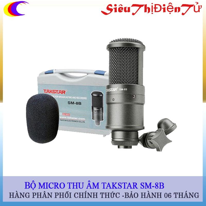 Micro thu âm Takstar SM-8B cao cấp