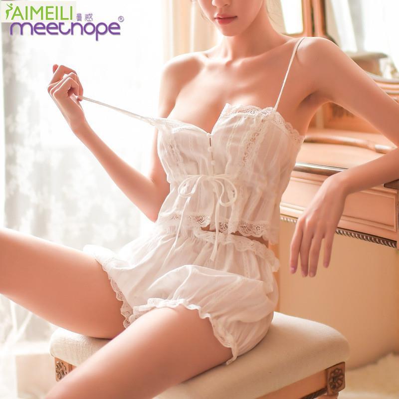 Set đồ ngủ quyến rũ gợi cảm thanh lịch sang trọng cho nữ