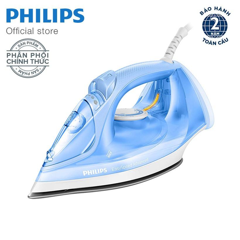 Bàn ủi hơi nước Philips GC2676/20 (Xanh Trắng)