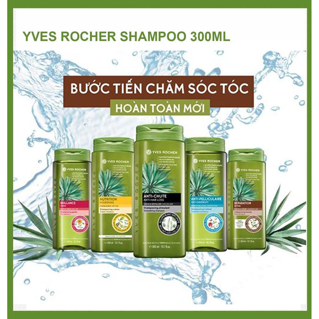 [Mẫu Mới] Dầu Gội Chăm Sóc Tóc Yves Rocher Shampoo 300ml
