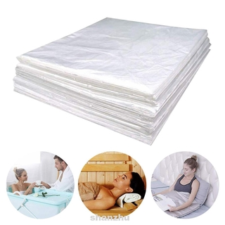 50pcs/set Home PE Men Women Salon Full Protection Sauna Blanket Promote Detox Increase Sweat Plastic Sheeting