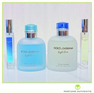 [Cam Kết Chính Hãng] Nước hoa DG Light Blue intense và edt pour homme