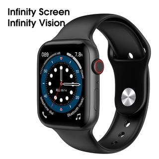 Lykry Smart Watch M33 IWO Square Screen Bluetooth Call IP68 Waterproof ECG Heart Rate Body Temperature monitoring Fitness Tracker 1.75 inch