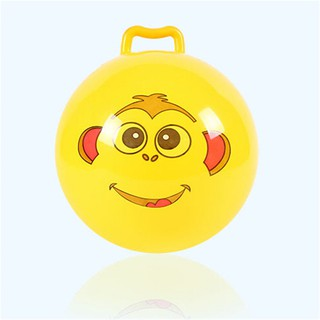 $VN Inflatable Hopping Jumping Ball Bouncer Hopper Handle Kids Outdoor Fun Beach Toy