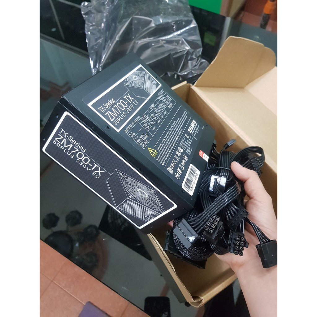 Ở ĐÂU RẺ HƠN XIN HOÀN TIỀN – Zalman ZM700-TX 700W 80 Plus NEW BH 2 NĂM Giá chỉ 630.000₫
