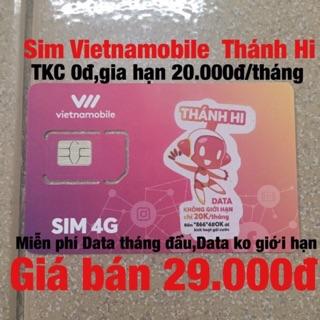 Sim VietNamobile Thánh Hi – Miễn phí Data tháng đầu