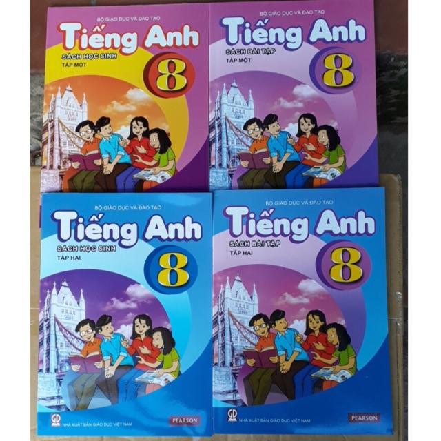 Sách - Tiếng anh lớp 8 ( tập 1+2 kèm bài tập +cd ) - 3513623 , 1237729186 , 322_1237729186 , 156000 , Sach-Tieng-anh-lop-8-tap-12-kem-bai-tap-cd--322_1237729186 , shopee.vn , Sách - Tiếng anh lớp 8 ( tập 1+2 kèm bài tập +cd )