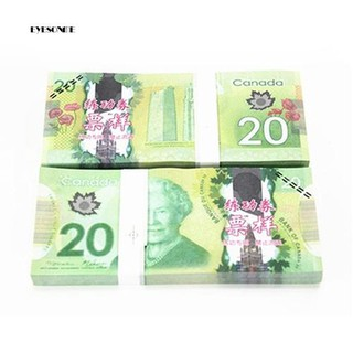 ♕100Pcs Double-Sided Color Canada 20 C$ Commemorate the Collection Banknotes
