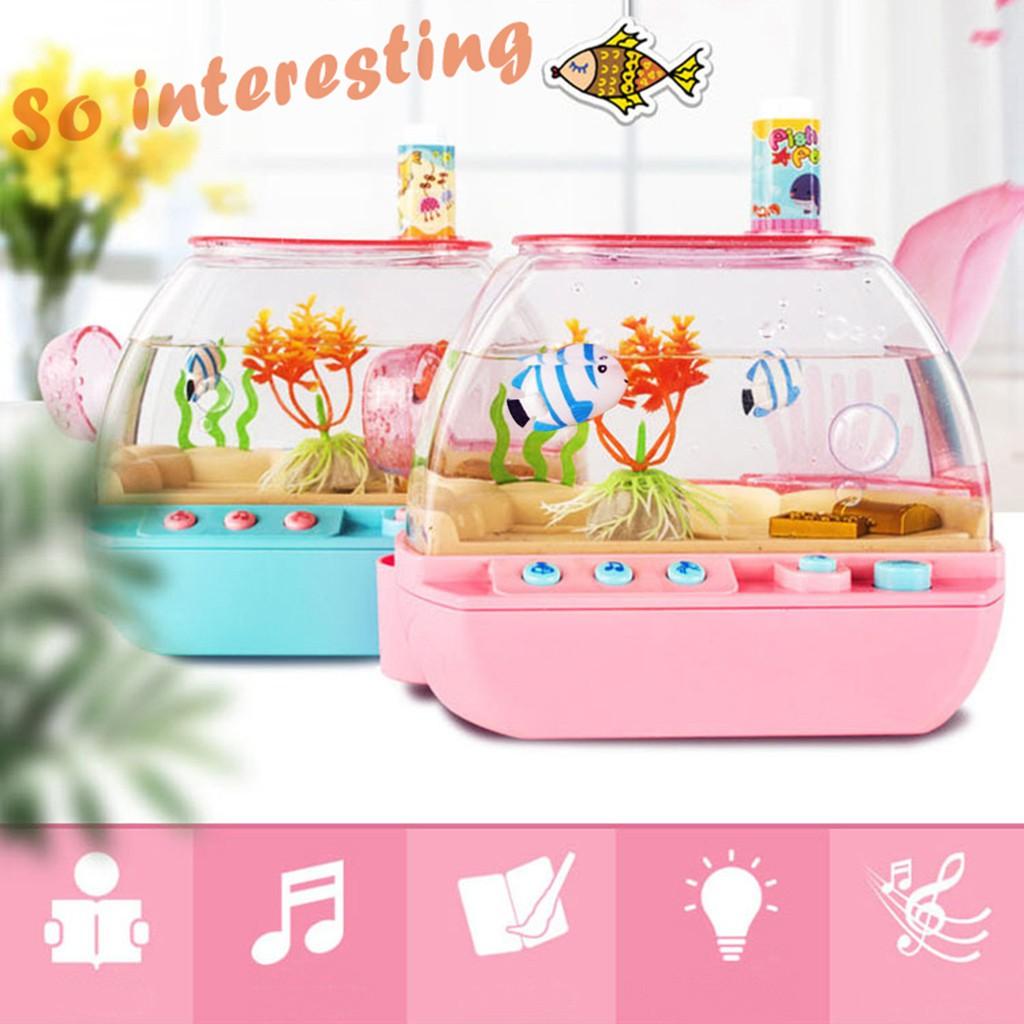 Bộ đồ chơi hồ cá điện tử vui nhộn dành cho trẻ em