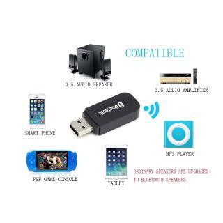 Bộ thu phát âm thanh Bluetooth và đài FM B 'u USB tiện dụng