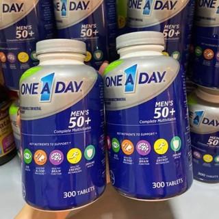 [Date 2022 ] Vitamin tổng hợp cho NAM trên 50 tuổi ONE A DAY MEN 50+ 300 viên