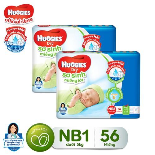 Combo 2 Gói Miếng Lót Sơ Sinh Huggies Newborn 1(0-5kg) NB56 (56 miếng ) - 3439873 , 787999248 , 322_787999248 , 156000 , Combo-2-Goi-Mieng-Lot-So-Sinh-Huggies-Newborn-10-5kg-NB56-56-mieng--322_787999248 , shopee.vn , Combo 2 Gói Miếng Lót Sơ Sinh Huggies Newborn 1(0-5kg) NB56 (56 miếng )