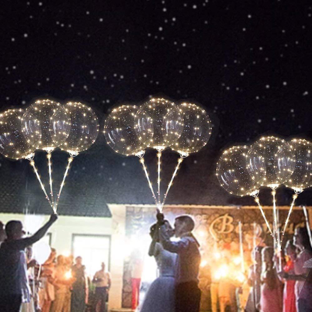 Bong bóng trong suốt gắn đèn LED phát sáng dùng trang trí tiệc cưới - 23070711 , 1837486645 , 322_1837486645 , 46843 , Bong-bong-trong-suot-gan-den-LED-phat-sang-dung-trang-tri-tiec-cuoi-322_1837486645 , shopee.vn , Bong bóng trong suốt gắn đèn LED phát sáng dùng trang trí tiệc cưới