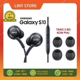 Tai nghe Samsung AKG S10 S10 Plus S8 S9 Note 8 Note 9 NGUYÊN SEAL kèm 2 bộ núm phụ - BẢO HÀNH 1 ĐỔI 1