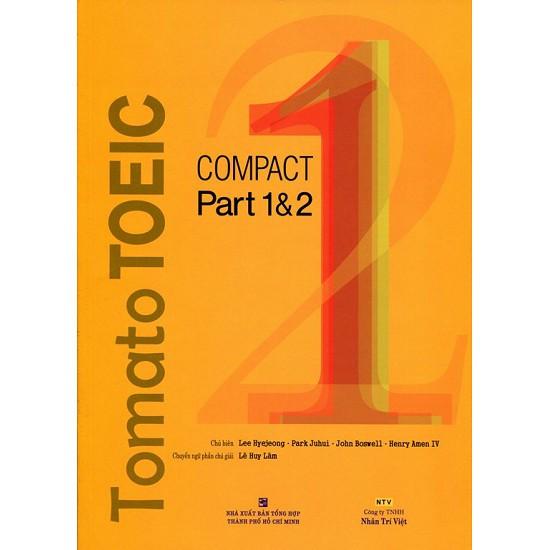 sách-Tomato TOEIC Compact Part 1 & 2 (Kèm CD)