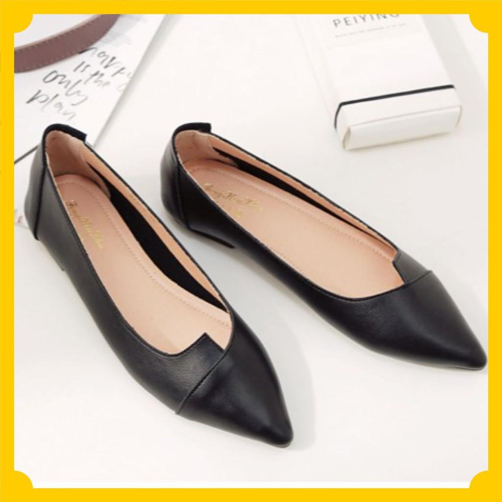 Giày bệt nữ da mềm đẹp tinh tế MÃ BB_B2