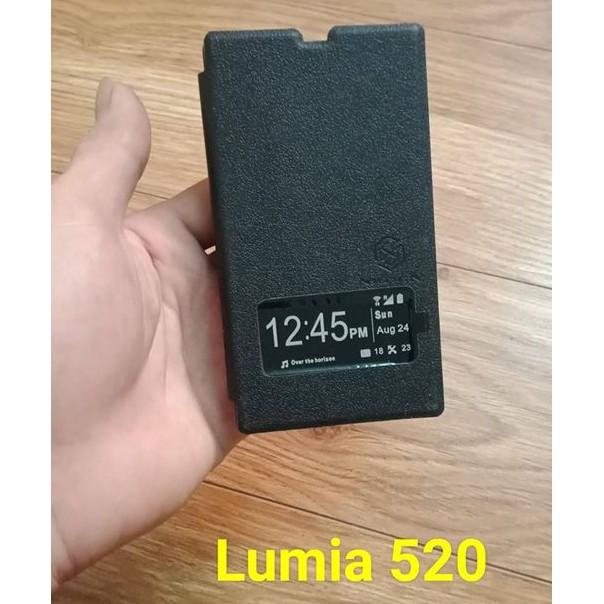 bao da lumia 520 màu đen sale