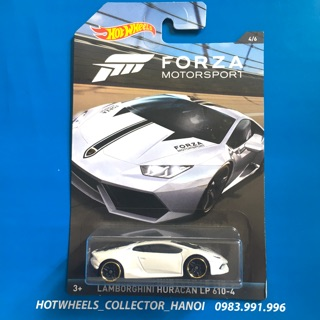 Xe Hot Wheels – Lamborghini Huracán LP 610-4