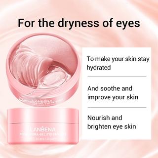 Hình ảnh Set 60 mặt nạ LANBENA collagen hoa hồng chống nếp nhăn cho mắt-2